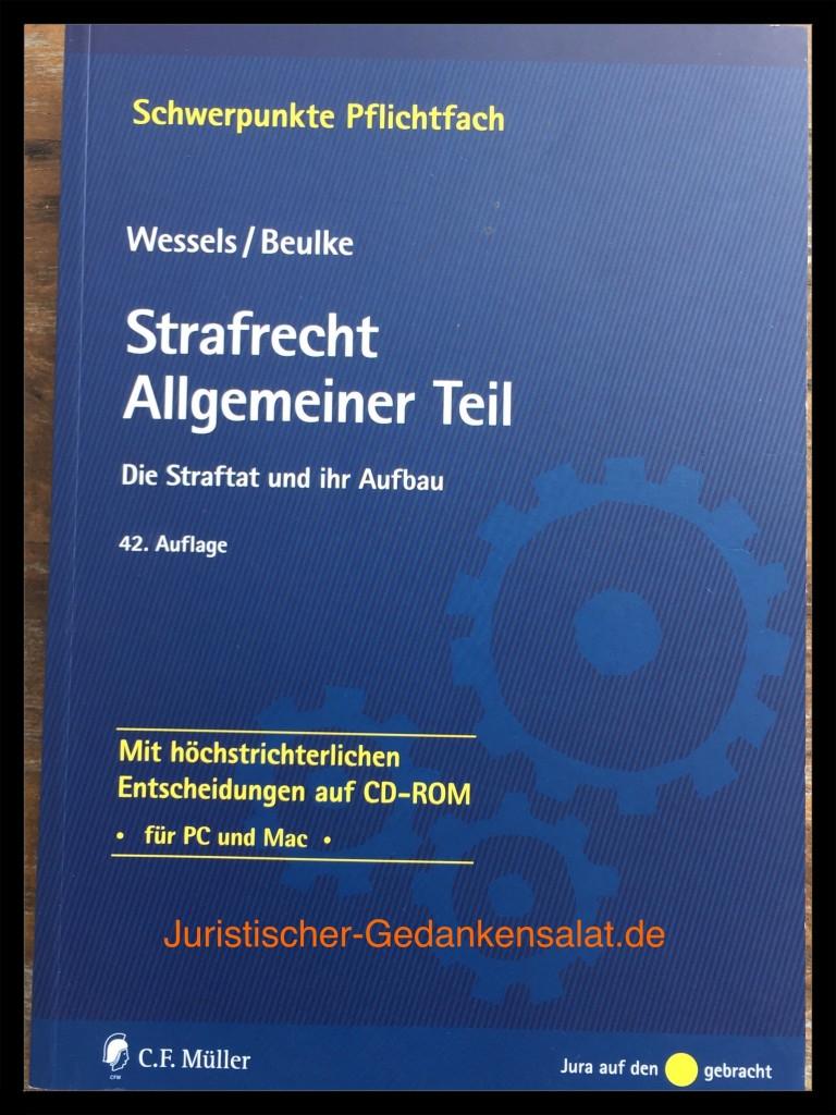 Wessels/Beulke - Strafrecht AT